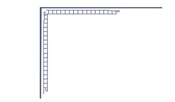 Угол из панелей без планок